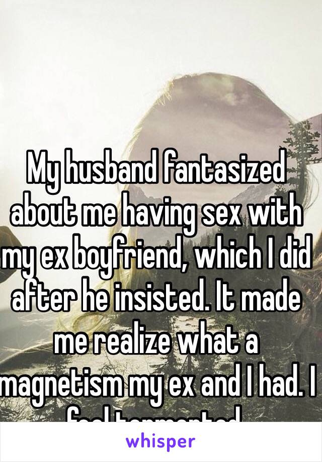sex my with had ex