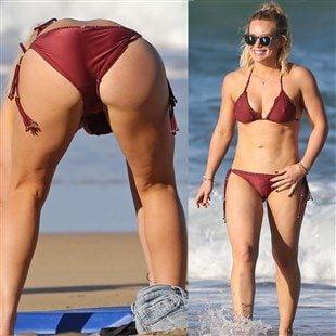 Hilary Duff  nackt