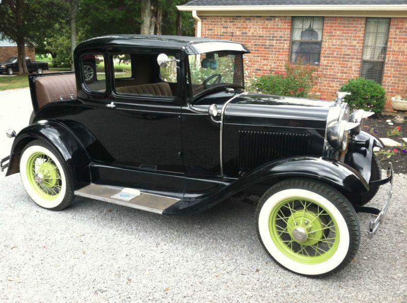vintage rumble seat