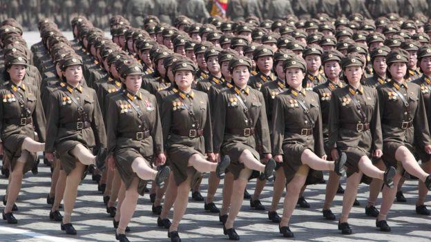 hot girls north korean