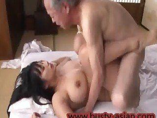 asian with old men having girls sex