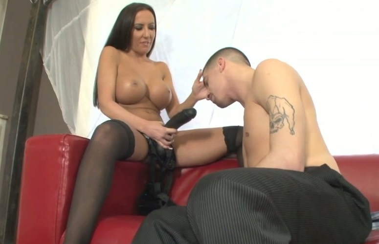 a with sybian orgasm