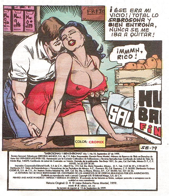 cartoon erotic comic
