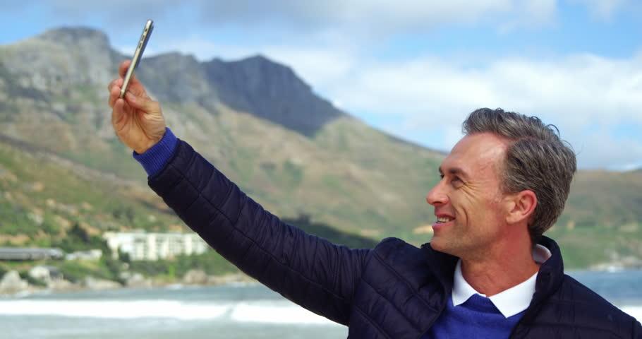 mature men selfies