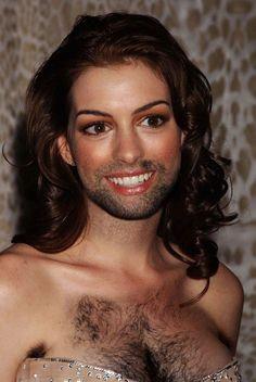 women celebrities hairy photos