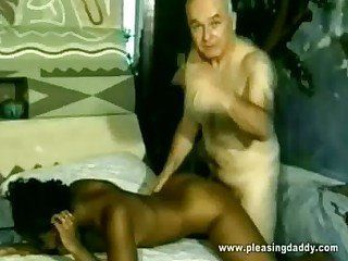 young ebony old and porn