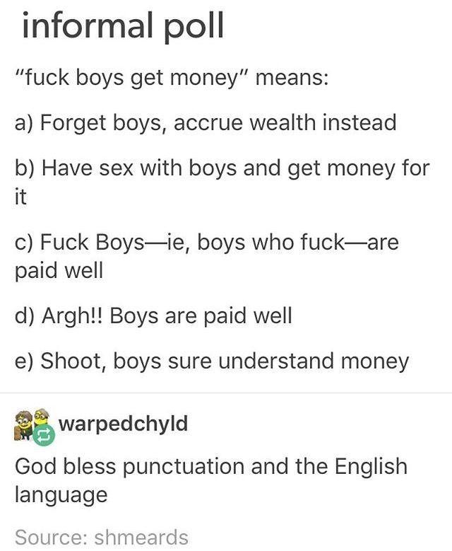 fuck tumblr for money