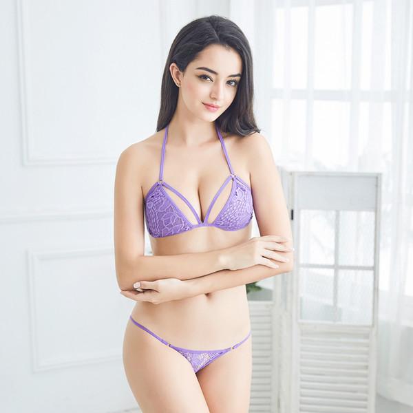 sheer bikini underwear