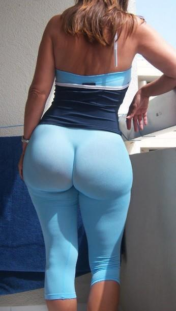 ass pants yoga big