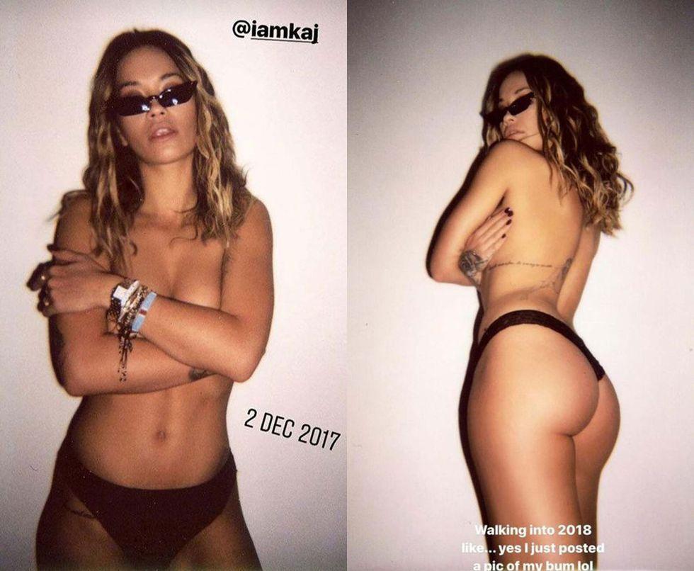 celebrity model naked