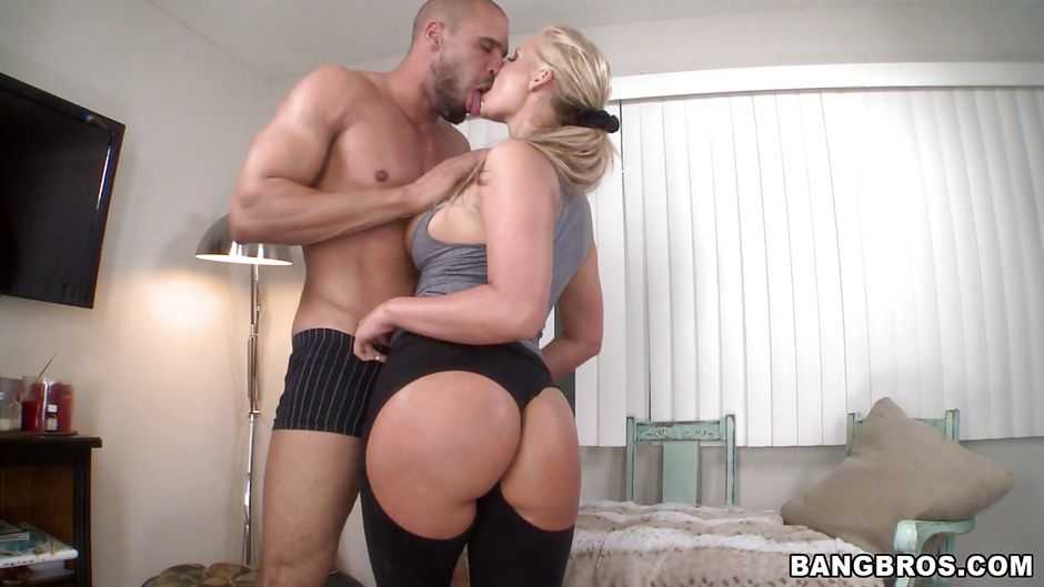 ass with blonde big fucked