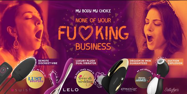 women endorsed dildo