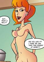 Sexy cartoons nude