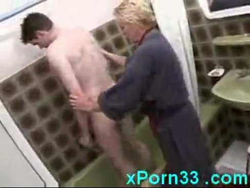 shower in washing son porn mom