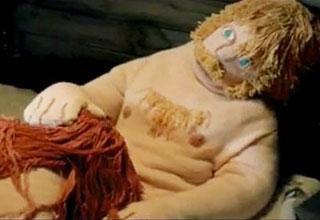 necking porn muppet