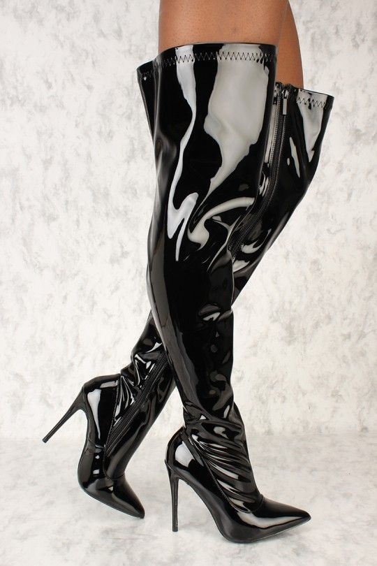 fetish and shoes boots wet