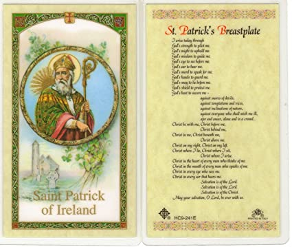 of st patrick breast plate