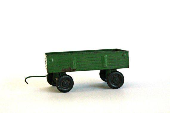 vintage green wagon