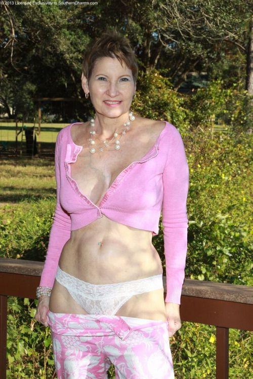 mature pantie white