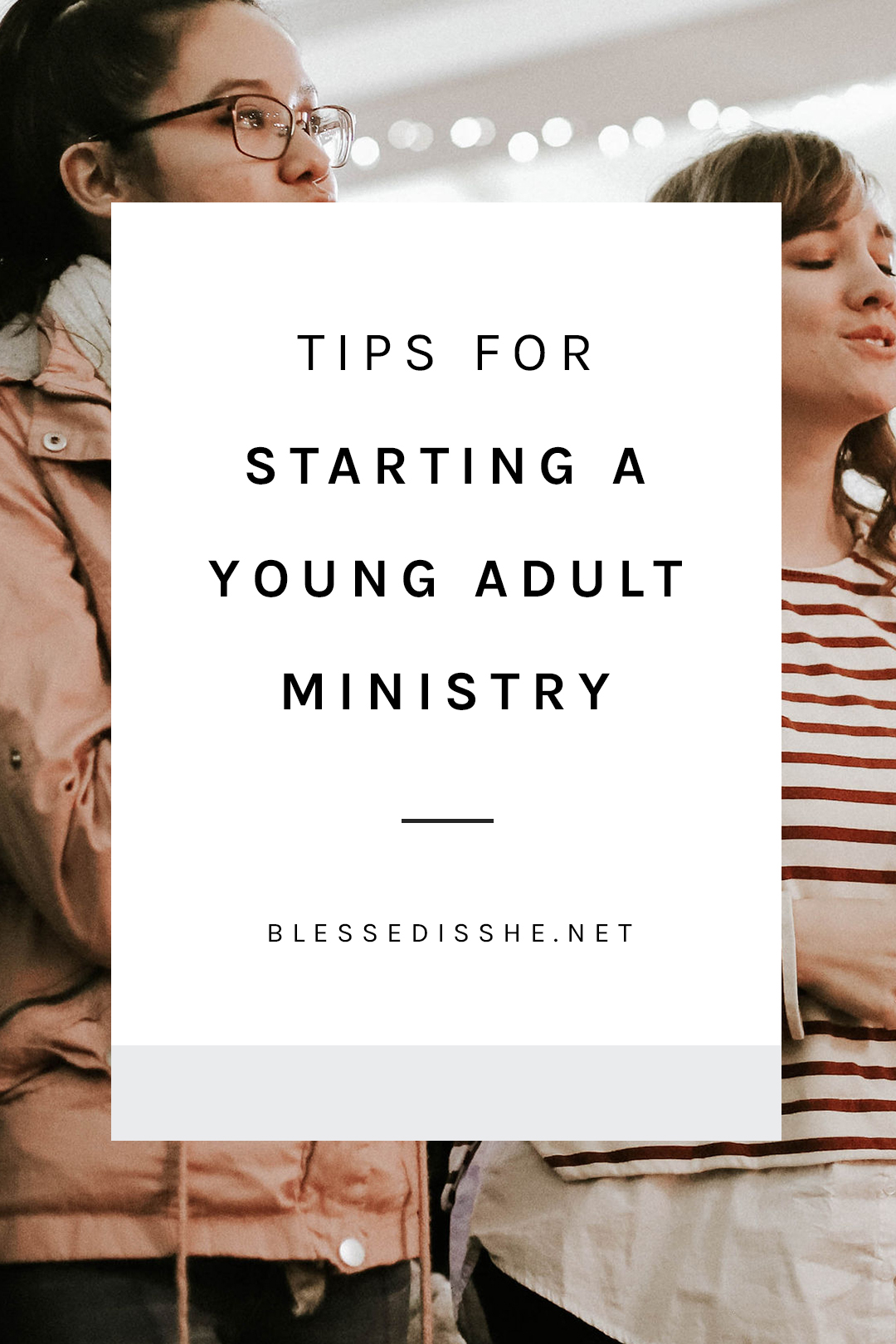 adults a ministry starting young
