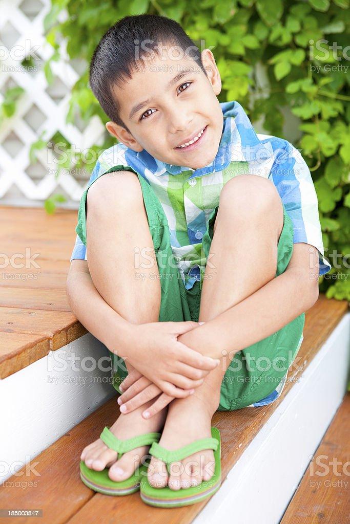 wearing boys flops flip