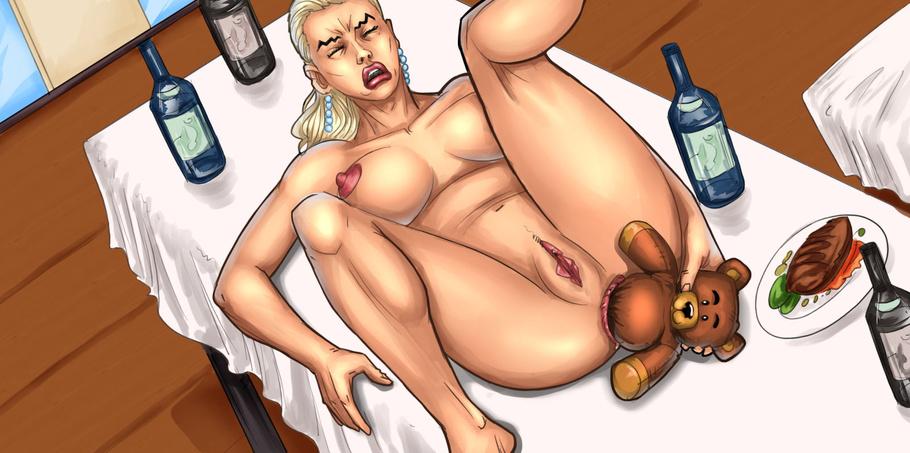 porn cartoon bear