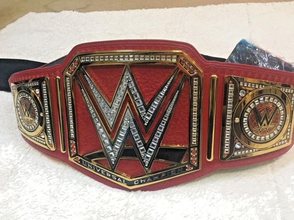 wrestling belt wwe adult