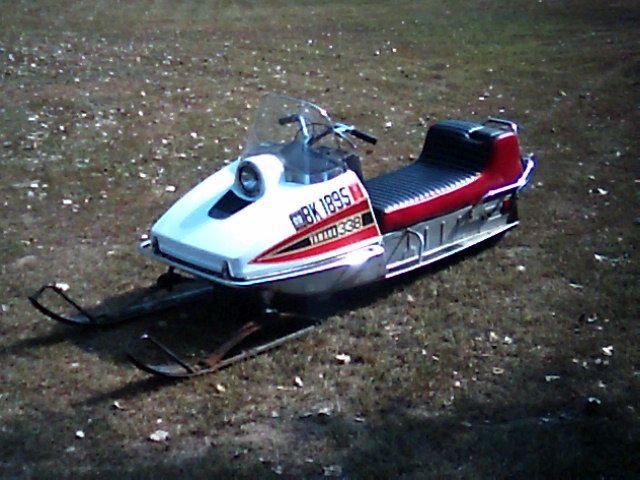 yamaha page snowmobile vintage