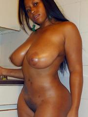nude busty girls black