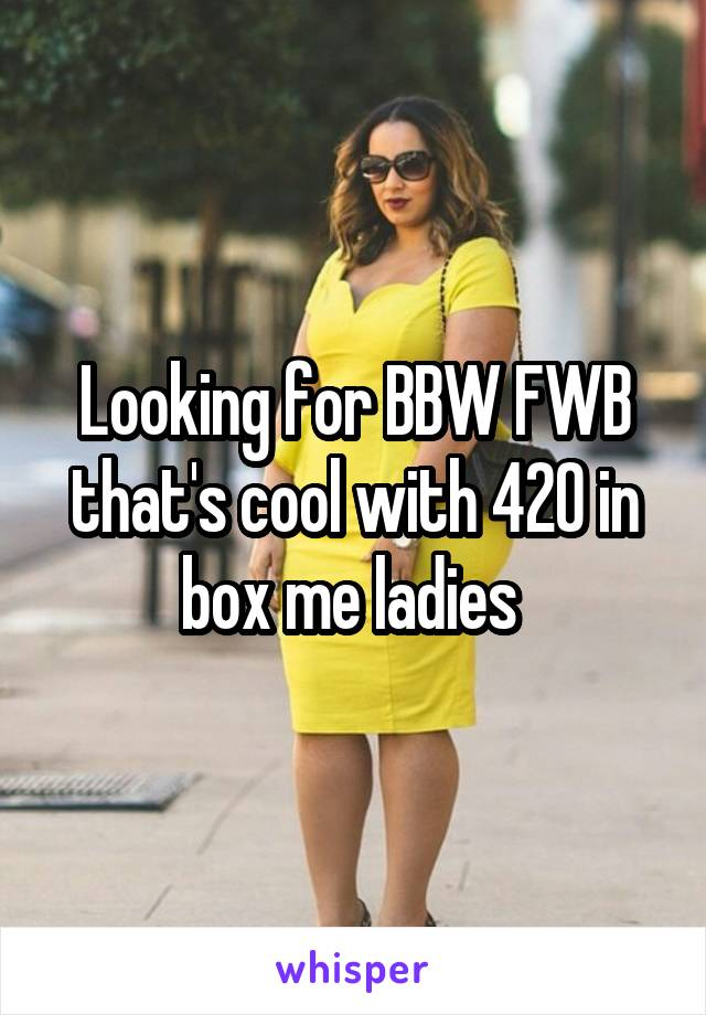 bbw looking for